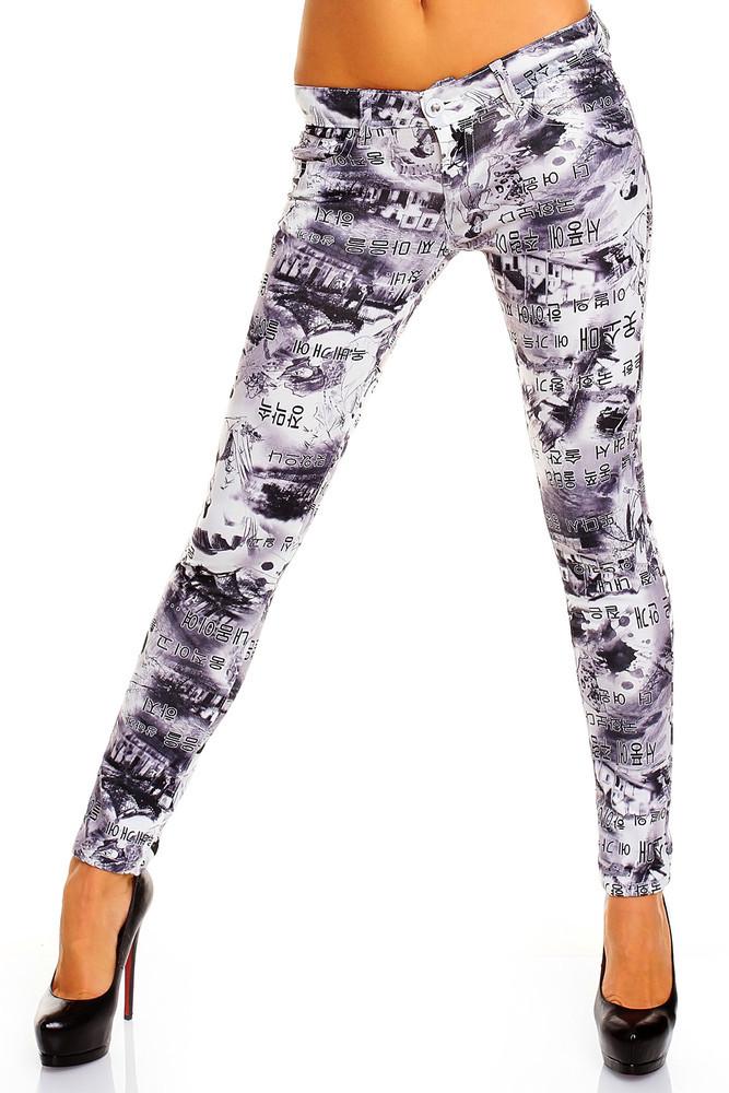Jeans s potiskem hs-ri26