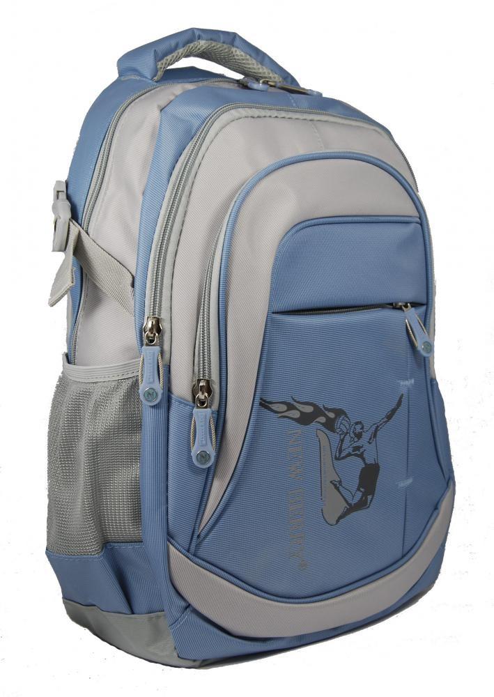 Batoh NEWBERRY do města / do školy L628 modro-šedý