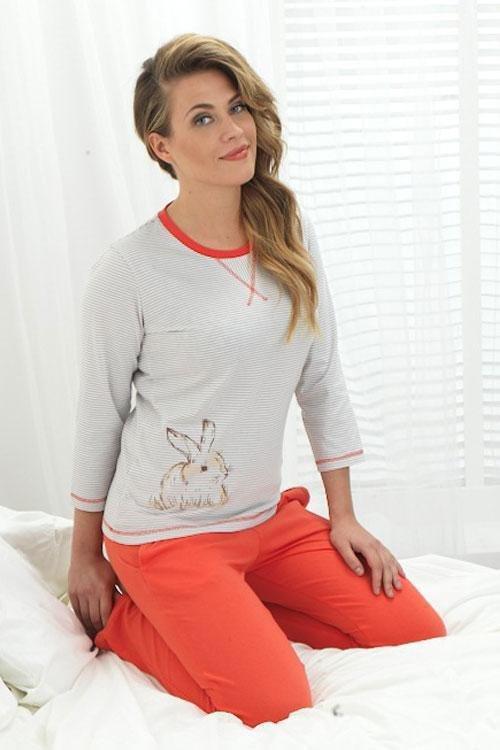 Dámské pyžamo KO-180 RASPBERRY