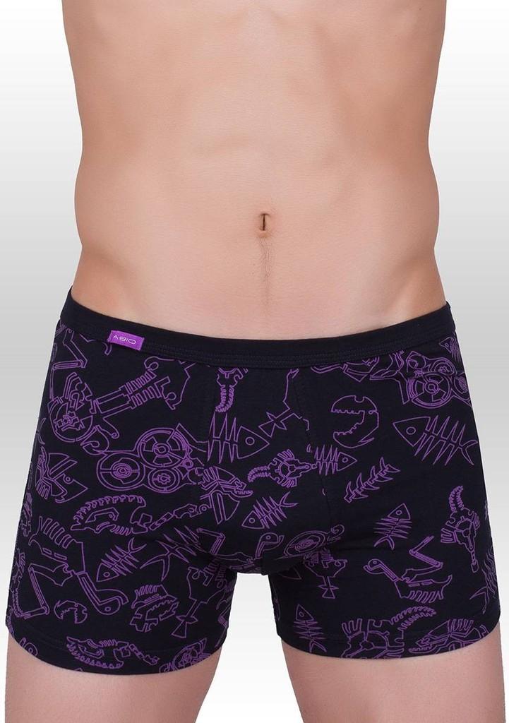 Pánské boxerky s jemným vzorem 362