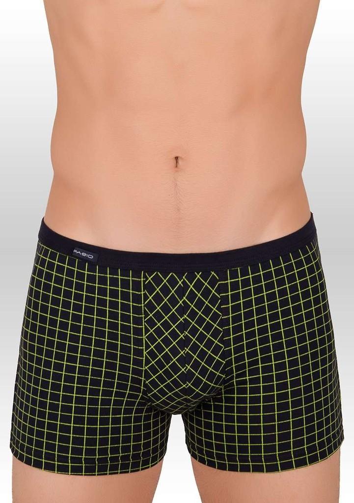 Pánské boxerky se vzorem kostičky 438