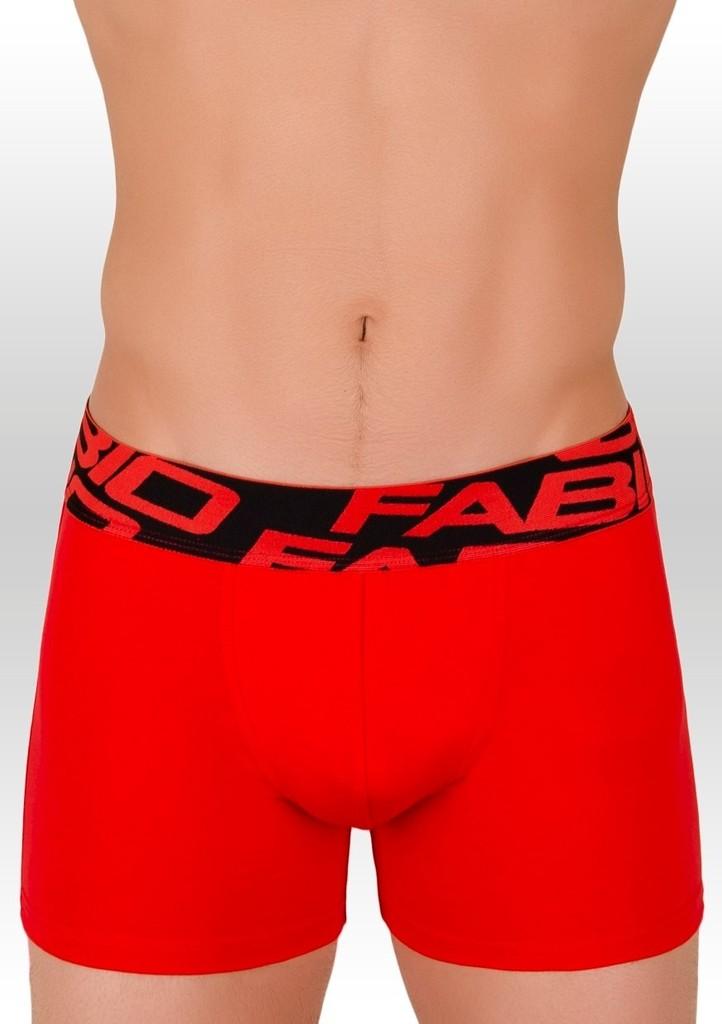 Pánské boxerky s širokou vzorovanou gumou 14B Fabio