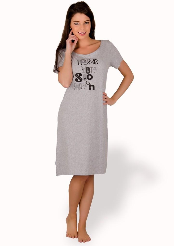 Dámská košile s nápisem Love you soo much