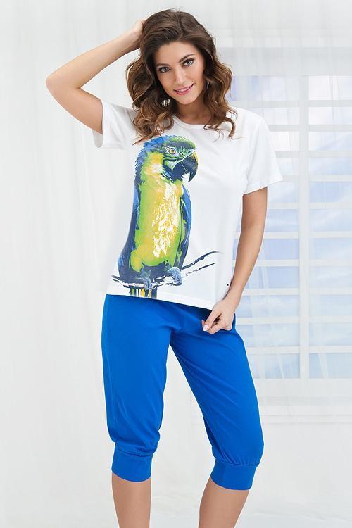 Dámské pyžamo KO-125 BLUE
