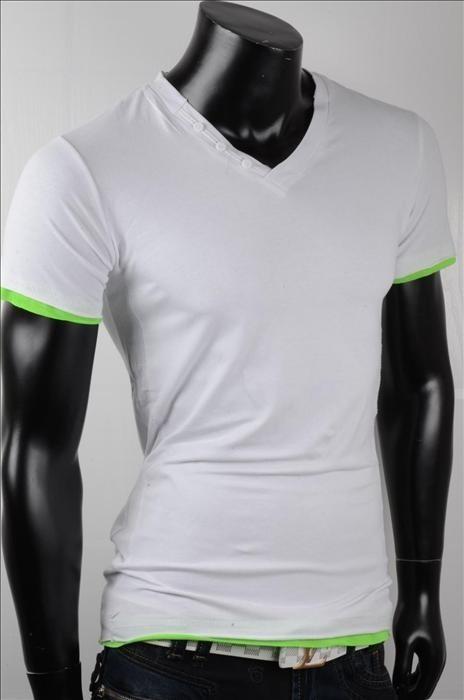Pánské letní triko p-tr09wh
