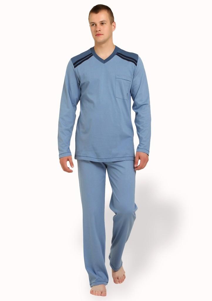 Pánské pyžamo nadměrné velikosti s kapsičkou