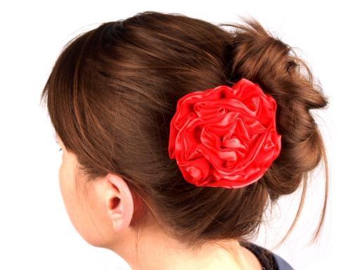 Růže do vlasů Ø 90mm LILY  (1 ks)