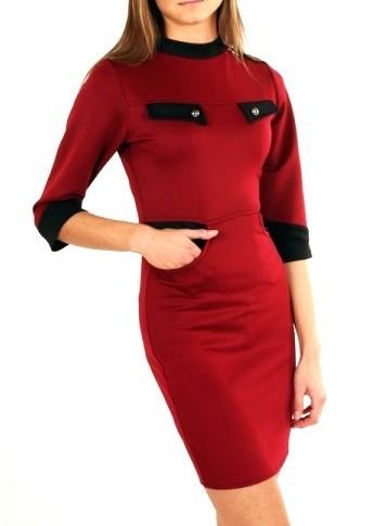 Elegantní dámské šaty maja102vi