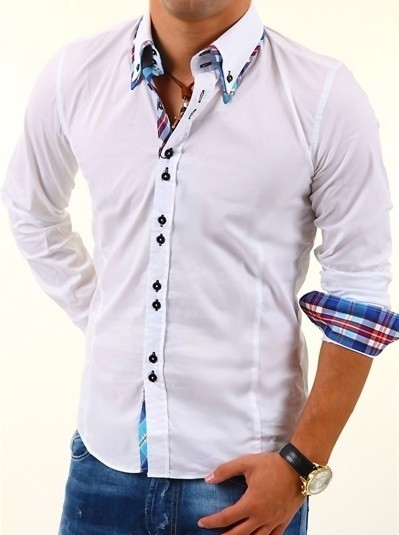 Pánská košile cp-ko01wh