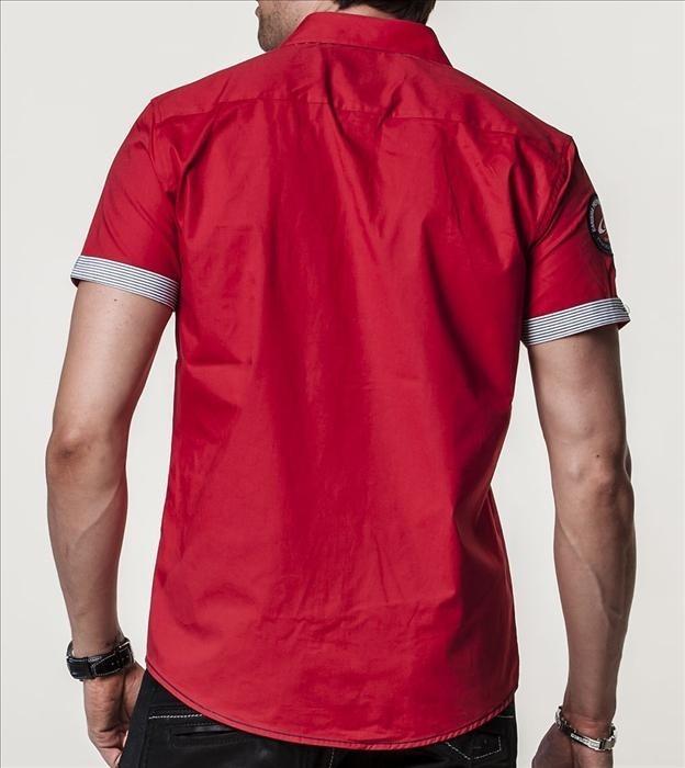 Trendy košile s krátkým rukávem cp-ko04re