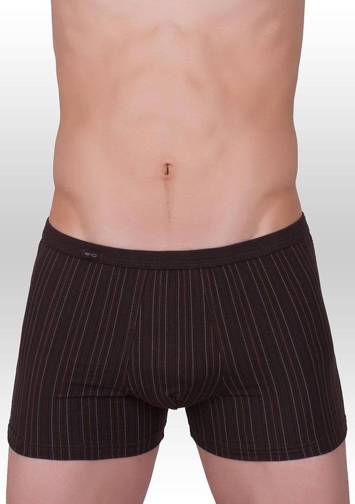 Pánské boxerky jemný svislý proužek vzor 232
