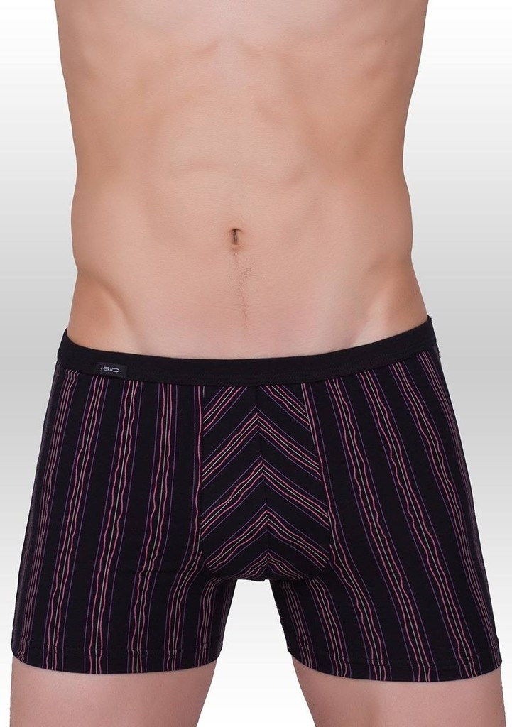 Pánské boxerky jemný svislý proužek vzor 352
