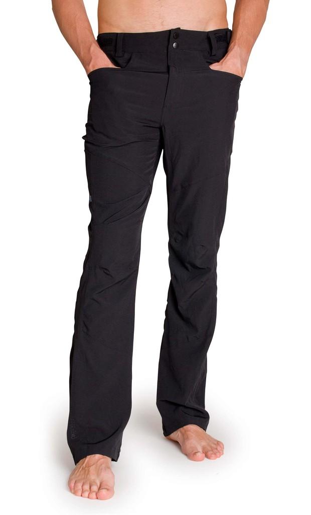 Pánské kalhoty Stretched Men´s Pants Black
