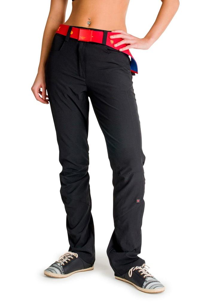 Dámské kalhoty Stretched Ladies´ Pants Black