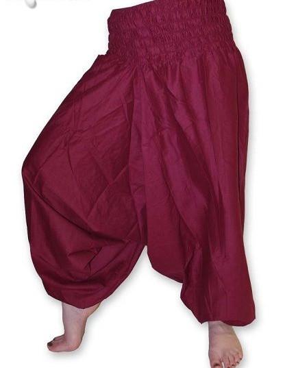 Kalhoty šaravary jb-026bo