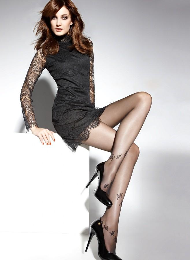 Punčochové kalhoty Gisele 06 černé