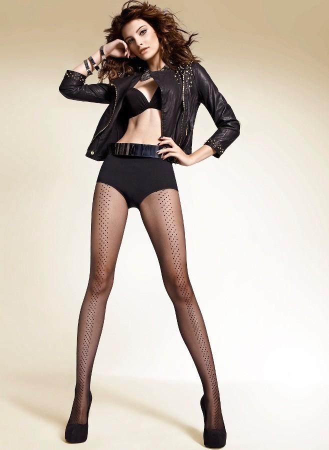 Punčochové kalhoty Gemi 01 černé