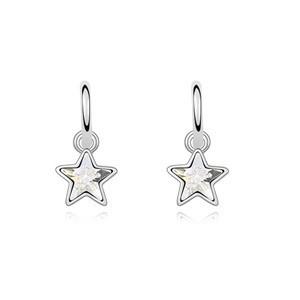 Náušnice hvězdičky sw-216wh