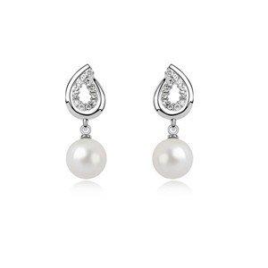 Elegantní perlové náušnice sw-203