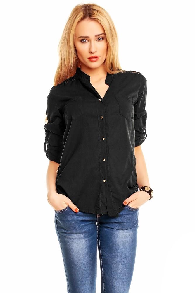Dámská košile hs-ha024bl