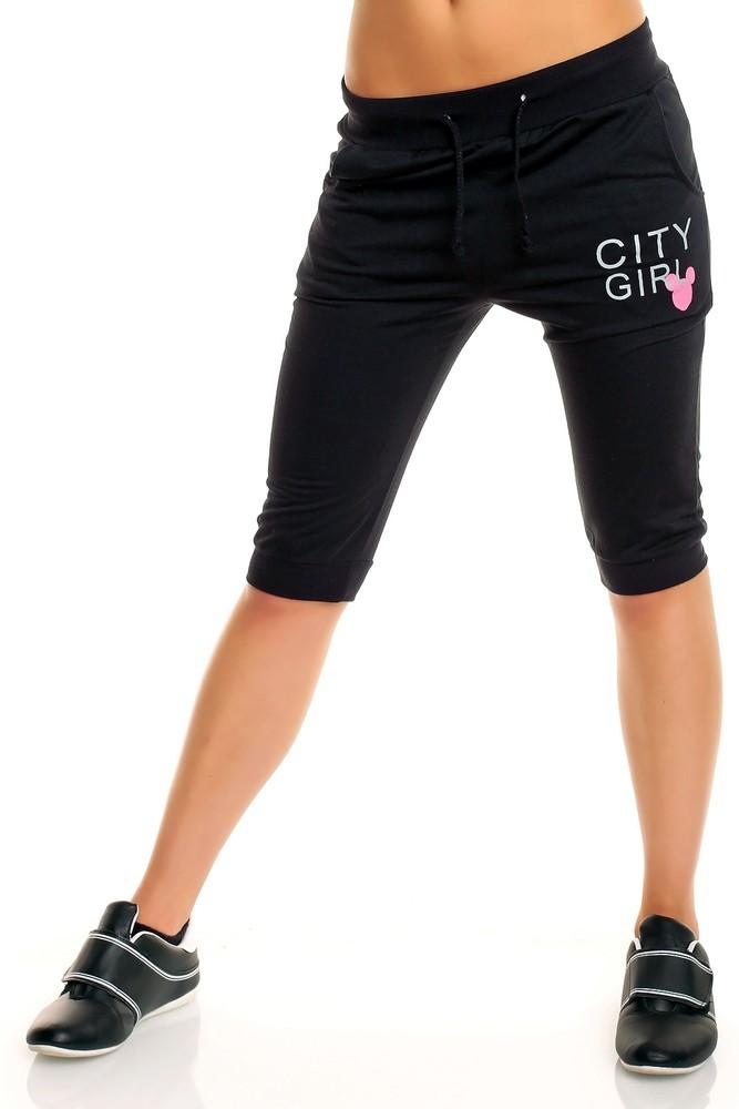 Fitness kalhoty hs-te012bl