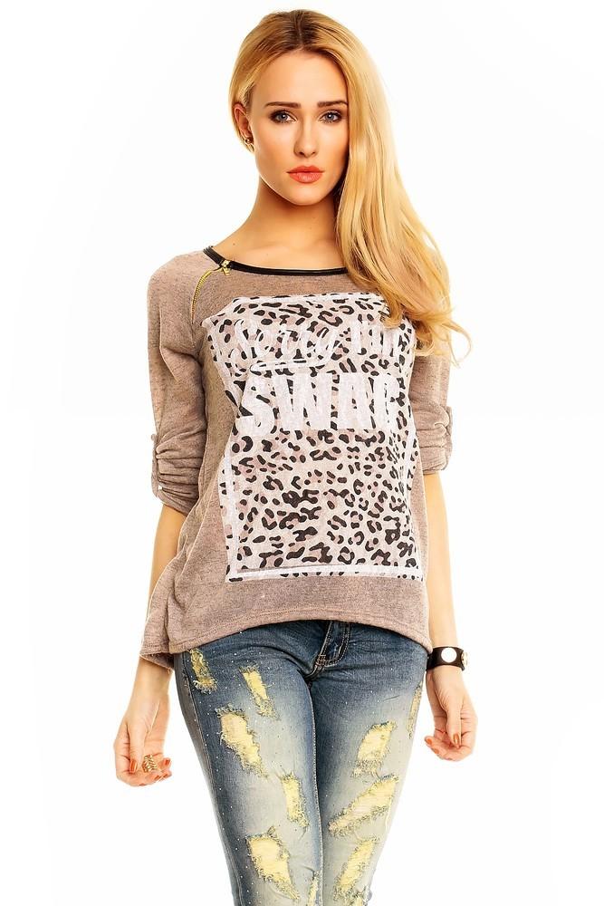 Pletené dámské tričko hs-tr041hn