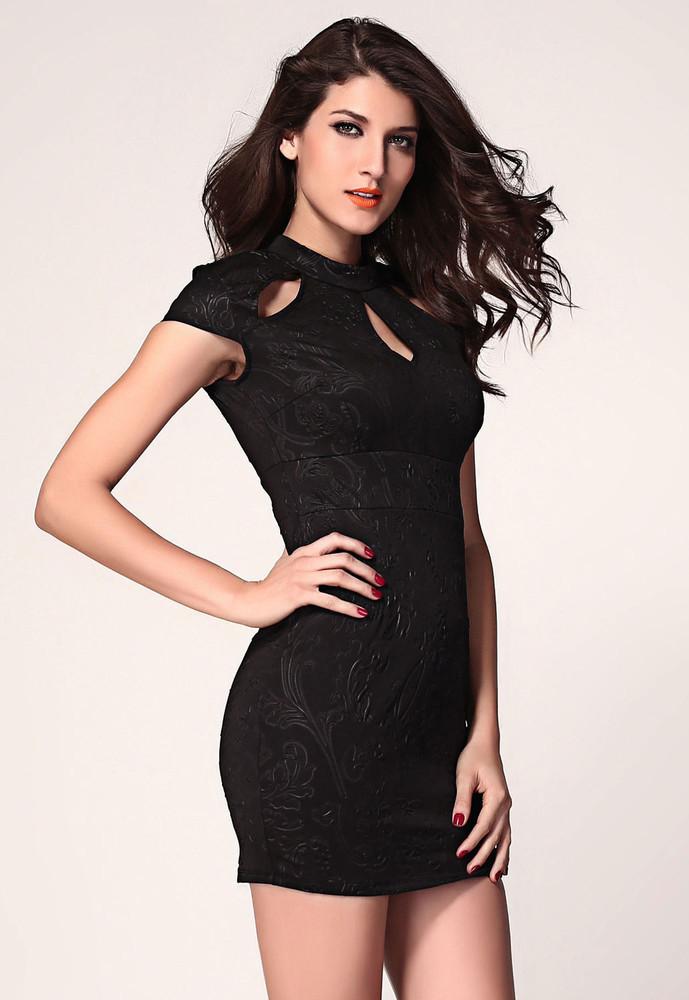 Krásné pouzdrové šaty d-sat232