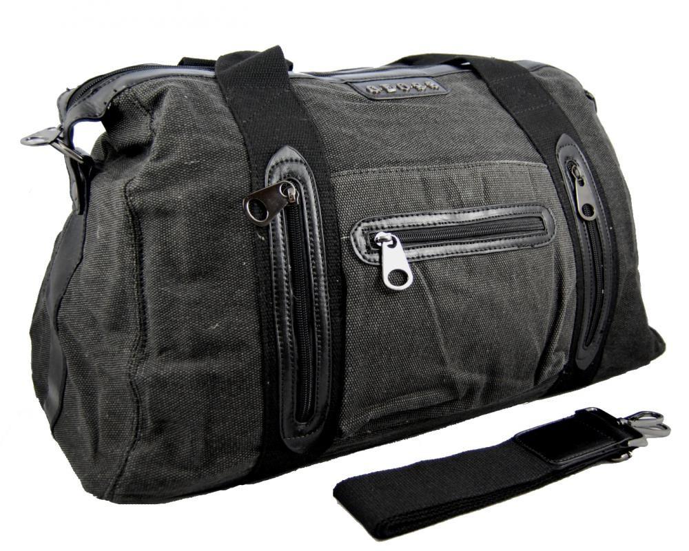 Pánská lehká cestovní taška 3071-1 černá