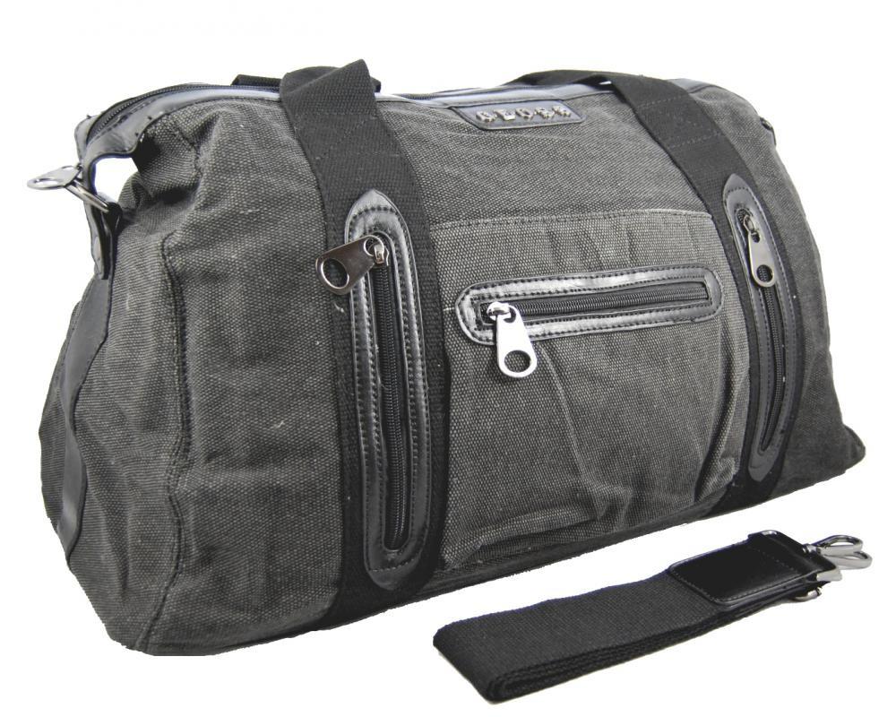 Pánská lehká cestovní taška 3071-1 šedá