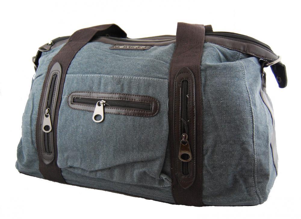 Pánská lehká cestovní taška 3071-1 modrá