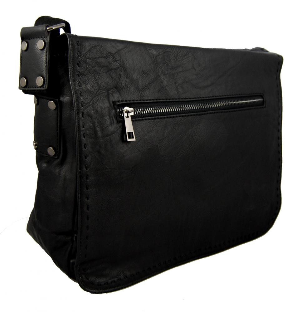 Černá pánská crossbody taška 8060-2A