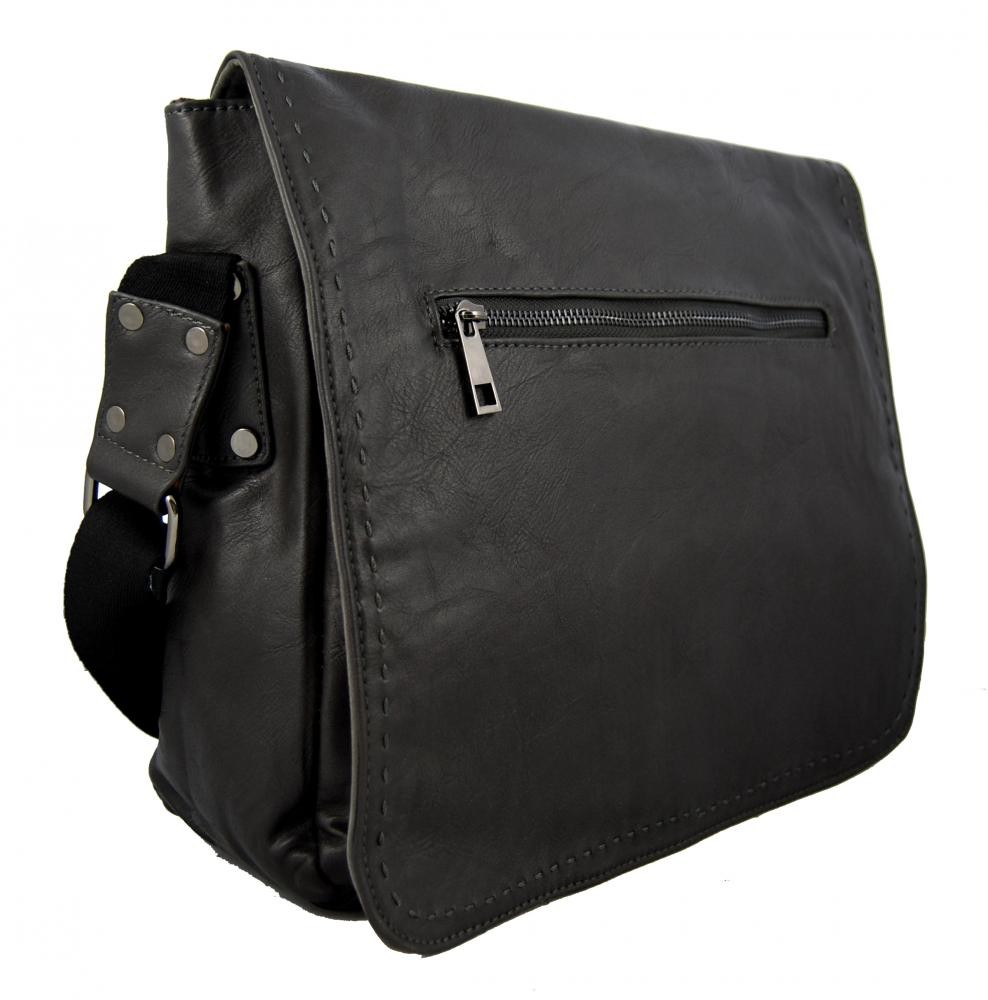 Šedá pánská crossbody taška 8060-2A