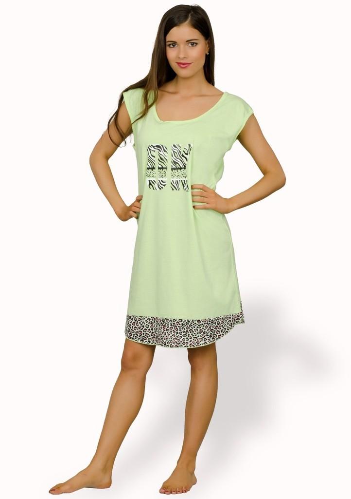 Dámská noční košile s nápisem OK