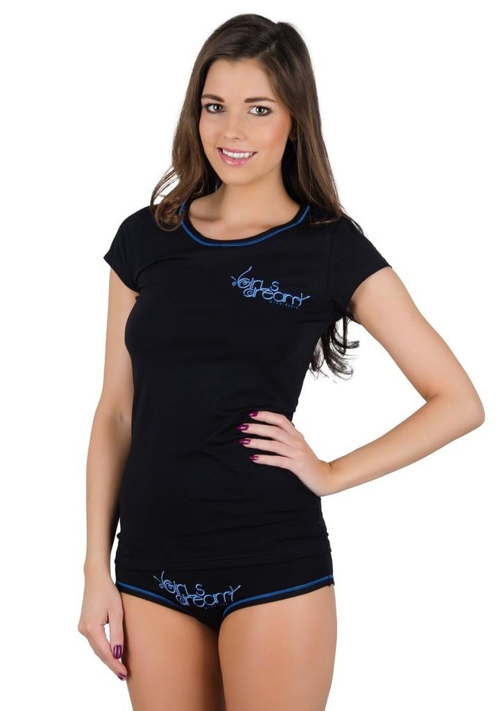 Dámské tričko s nápisem Girls dream