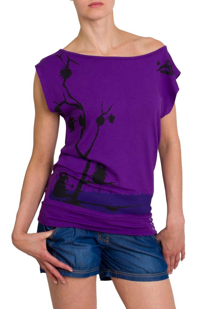 Dámské tričko Desert Violet