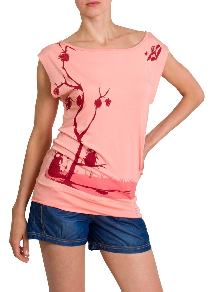 Dámské tričko Desert Pink