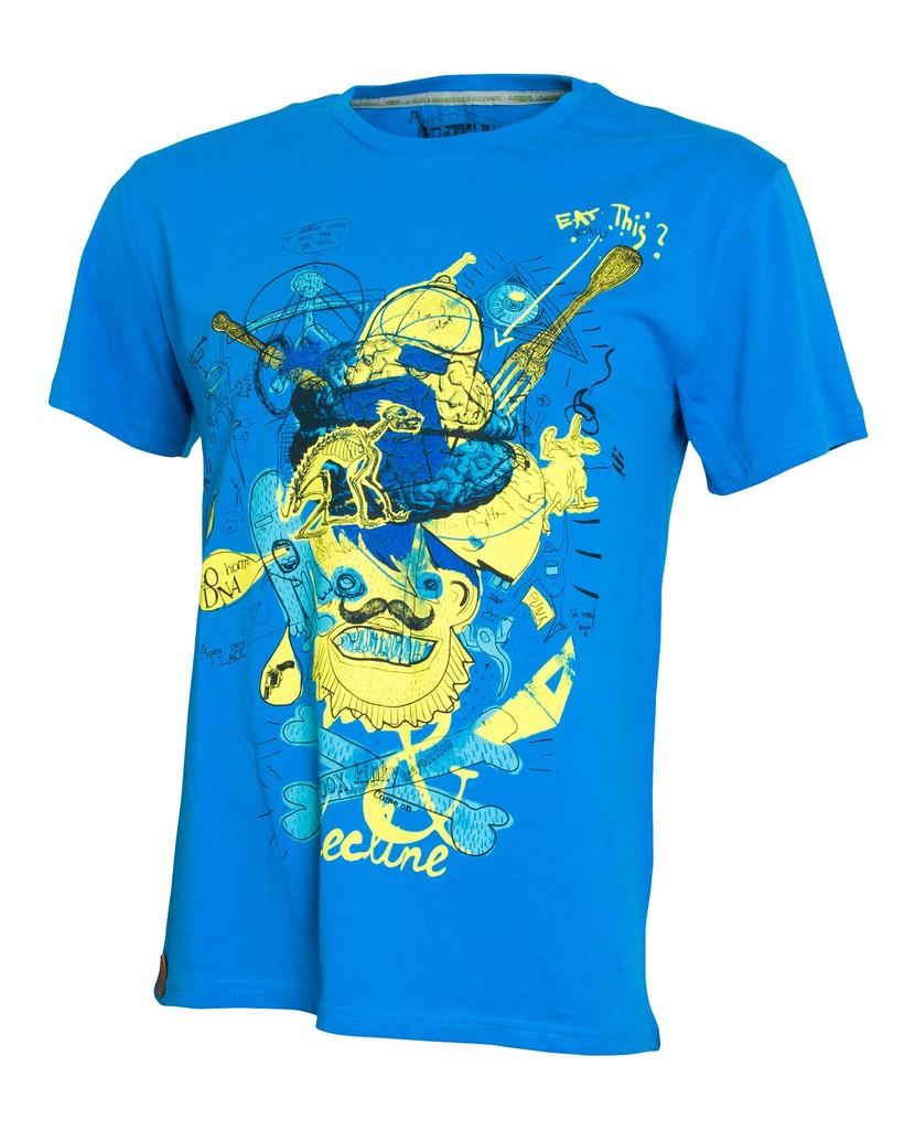 Pánské tričko Decline Blue