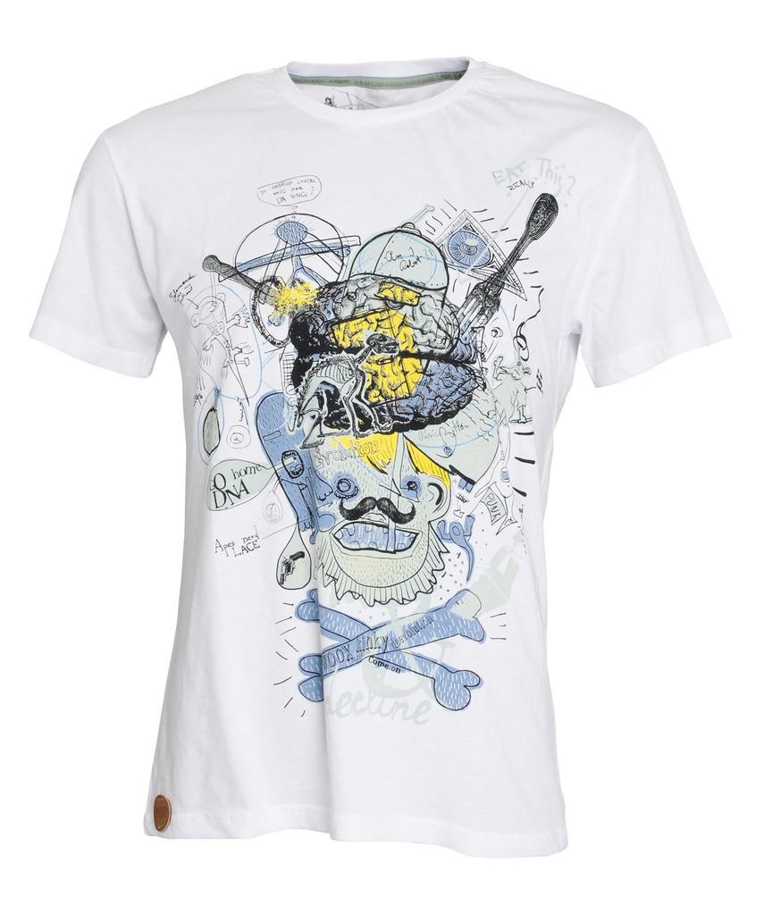 Pánské tričko Decline White