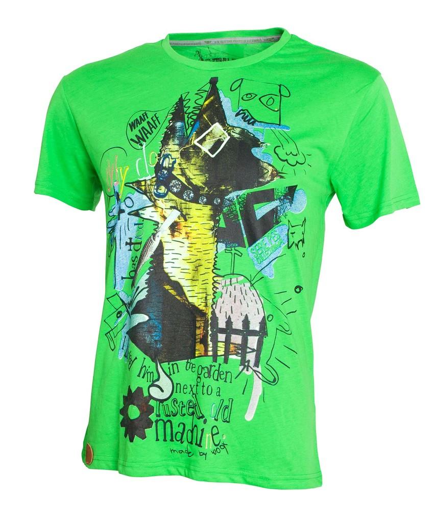 Pánské tričko Sere Pes Vol. 4 Green