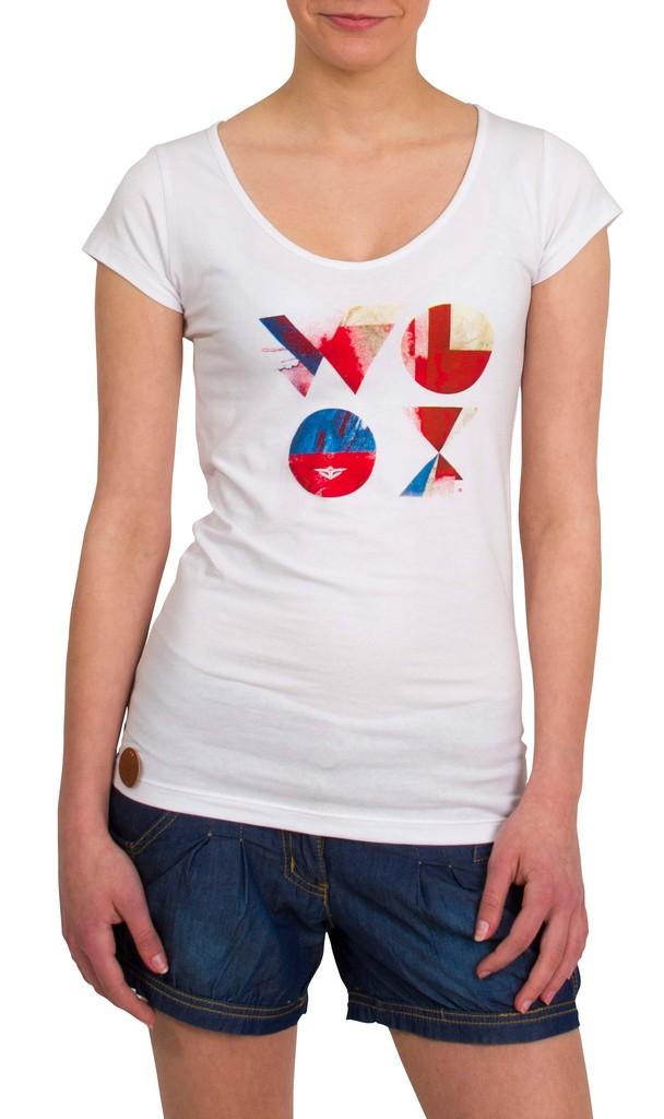Dámské tričko Era White