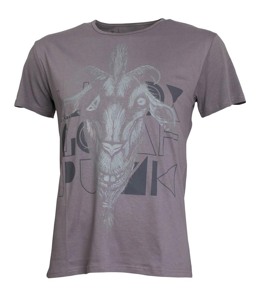 Pánské tričko Billy Goat Grey