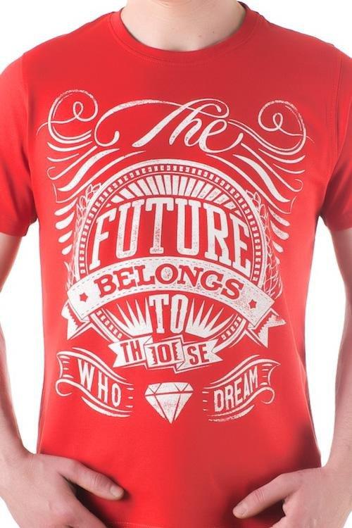 Pánské tričko OTS 1200-018 red