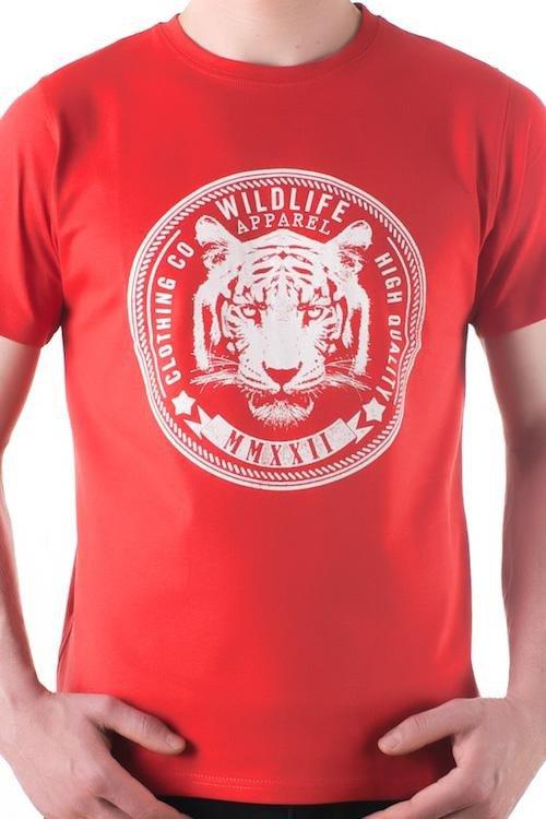 Pánské tričko OTS 1200-014 red