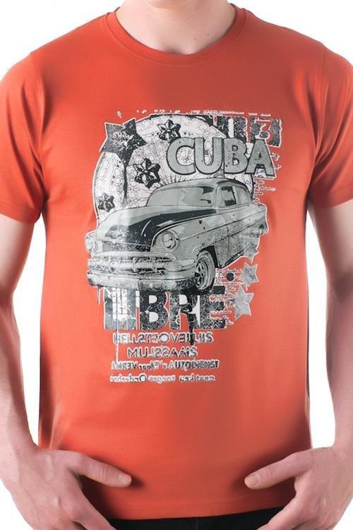 Pánské tričko OTS 1200-015 orange