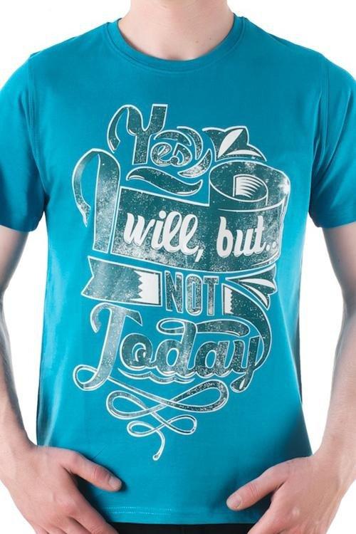 Pánské tričko OTS 1200-023 blue