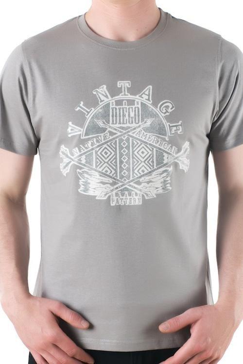 Pánské tričko OTS 1200-024 grey