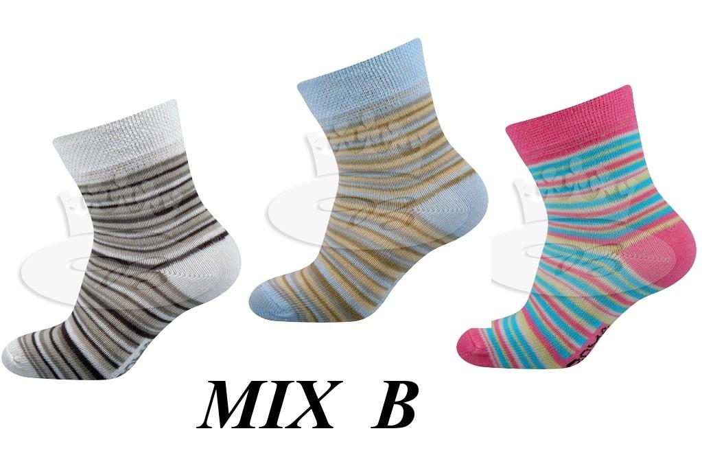 Dětské ponožky Profa sada 3ks