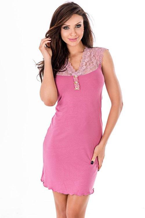 Noční košilka Melani II rose
