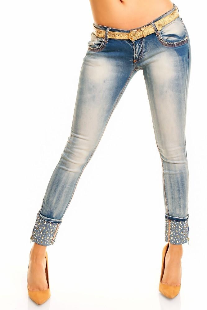 Moderní slim džíny hs-ri34