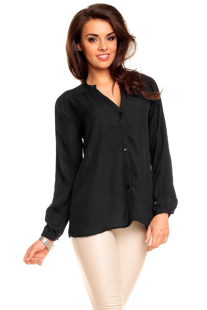Dámská košile černá hs-ha039bl